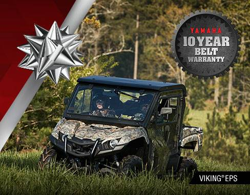 Yamaha Motor Corp., USA Yamaha - Holiday Sales Event -  Utility SxS