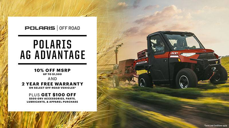 Polaris - Ag Advantage for Farmers & Ranchers