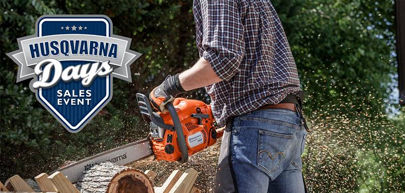 Husqvarna Power Equipment - Husqvarna Days Sales Event