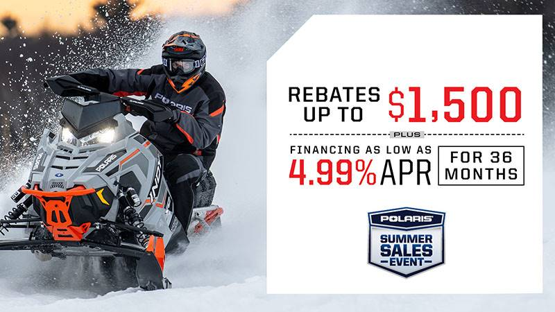 Polaris - Summer Sales Event - Snowmobiles