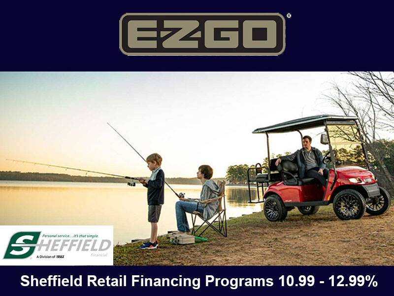 E-Z-GO - Sheffield Retail Financing Programs 10.99 - 12.99%