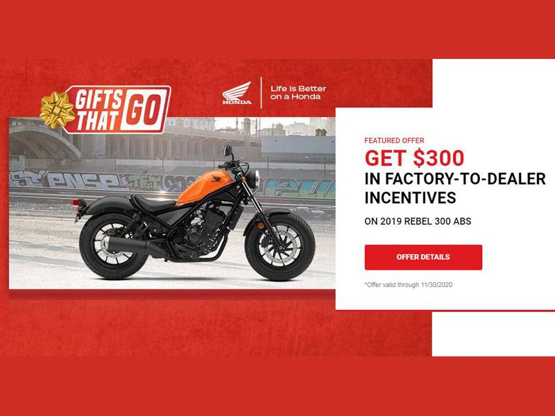 Honda - Gifts That Go - All Motorcycles and Scooter