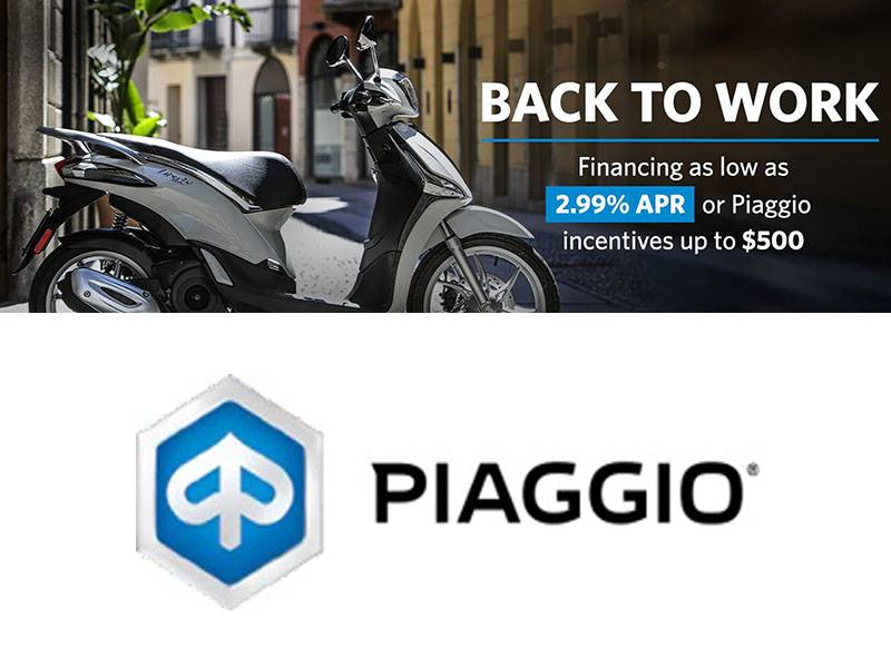 Piaggio - Back to Work
