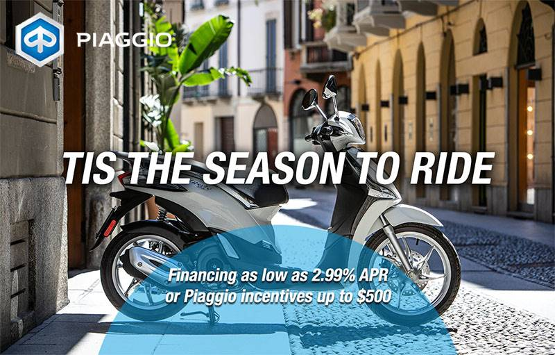 Piaggio - Tis The Season To Ride