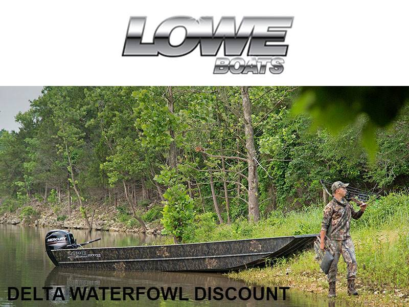 Lowe Boats - Delta Waterfowl Discounts