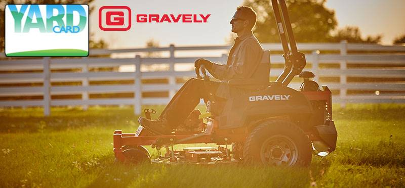 Gravely - Yard Card Financing Programs