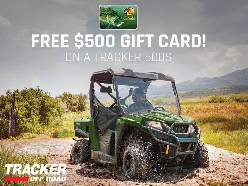 Tracker Off Road - Tracker 500S Gift Card Offer