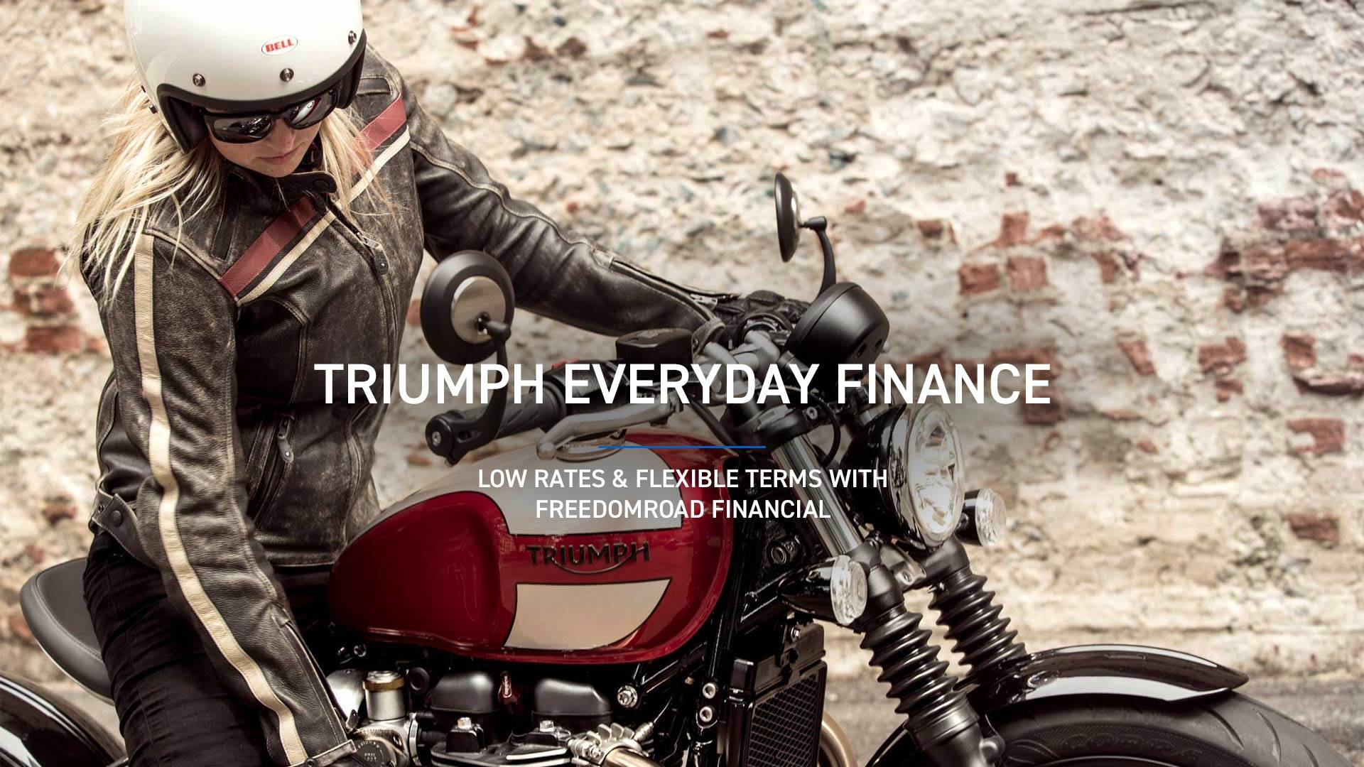 Triumph - Triumph Everyday Financing With Freedomroad Financial