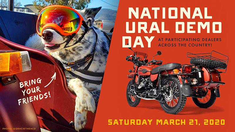 Ural Motorcycles - National Ural Demo Day