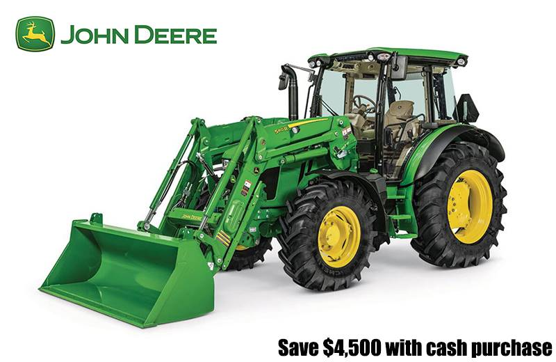 John Deere - Save $4,500 with cash purchase