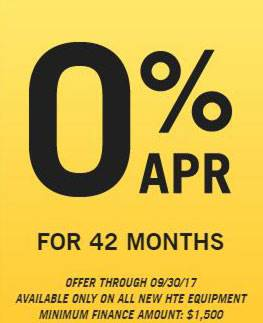 Hustler Sheffield Financial - 0% APR for 42 Months