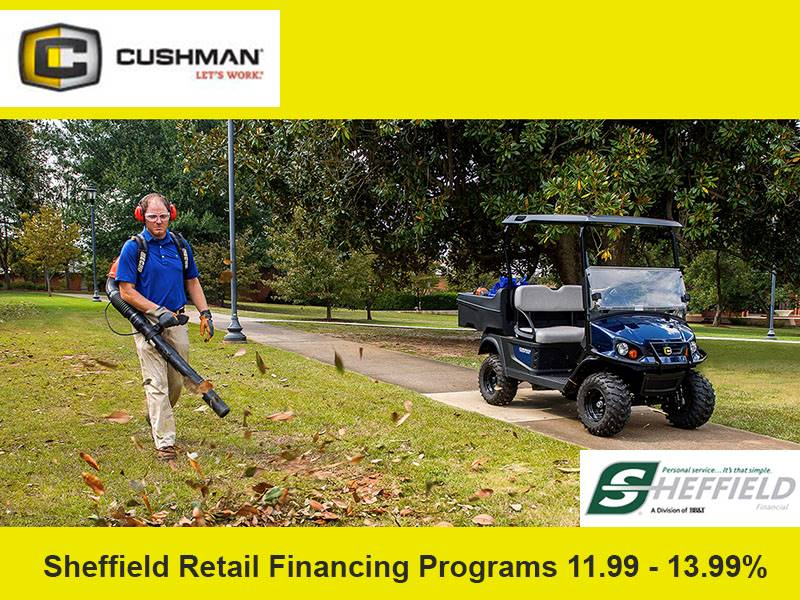 Cushman - Sheffield Retail Financing Programs 11.99 - 13.99%