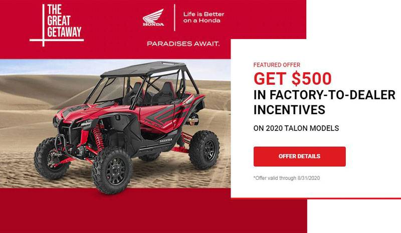 Honda - The Great Getaway - All ATVs and SxS
