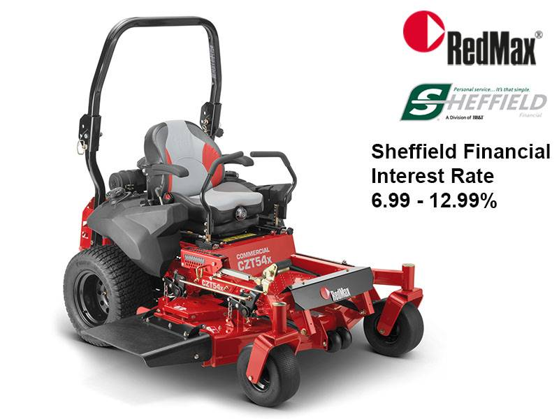 RedMax - Sheffield Financial Interest Rate 6.99 - 12.99%