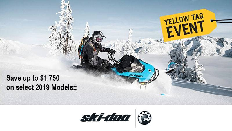 Ski-Doo - Yellow Tag Event