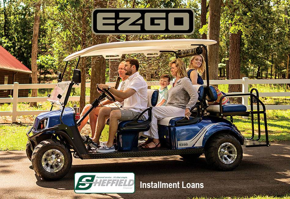 E-Z-Go - Sheffield Financial Installment Loan Offers