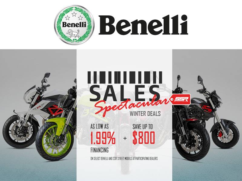 Benelli - Sales Spectacular Winter Deals