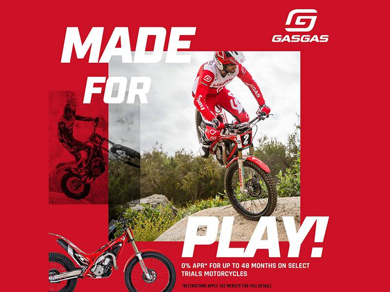 Gas Gas - Made For Play!
