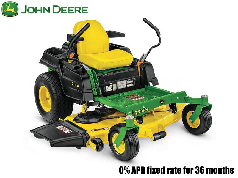 John Deere - 0% APR fixed rate for 36 Months on Z500 Series