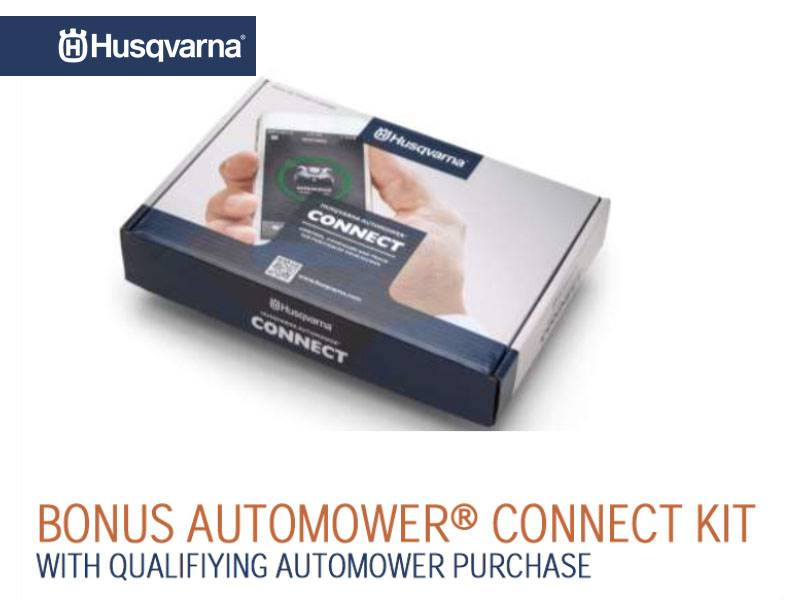 Husqvarna Power Equipment - Bonus Automower Connect Kit