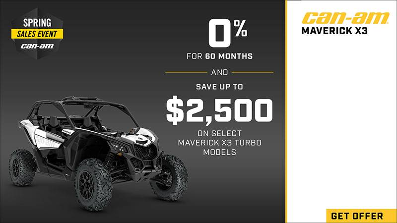 Can-Am - Spring Sales Event - Off-Road