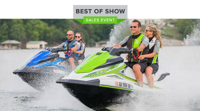 Yamaha Motor Corp., USA Yamaha Waverunners - Best of Show Sales Event - 6.49% APR