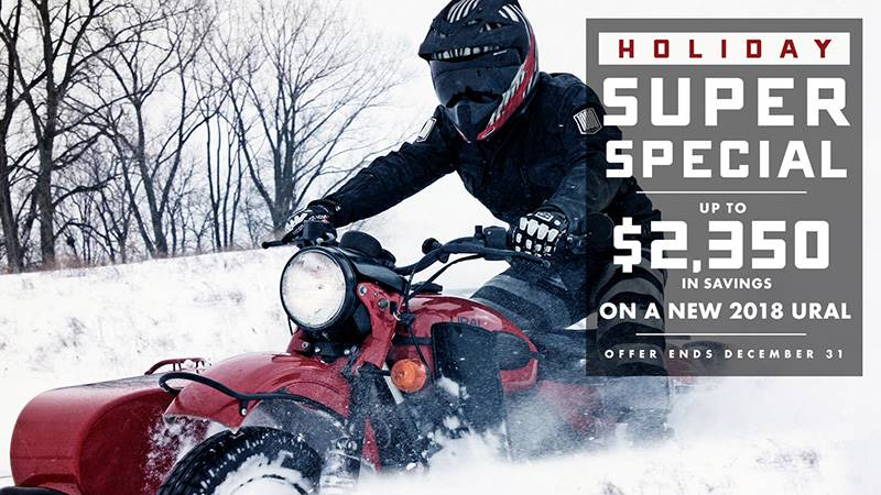 Ural Motorcycles - Holiday Super Special