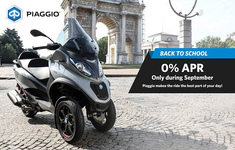 "Piaggio - ""Back to School"" 2019"