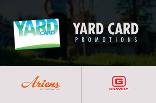 Gravely - TD Bank Yard Card Promotional Offers