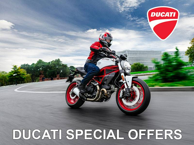 Ducati - Financing or Apparel and Accessories Offer