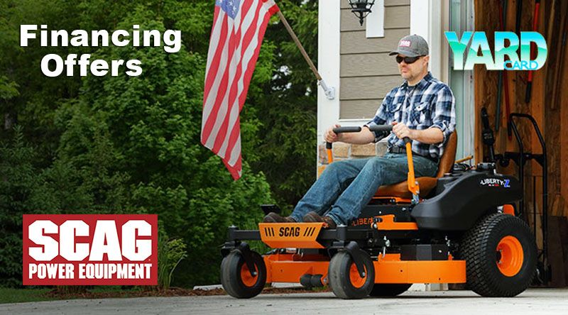 SCAG Power Equipment - Yard Card Financing Programs