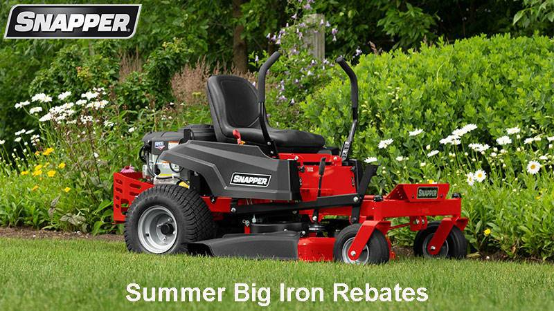 Snapper - Summer Big Iron Rebates