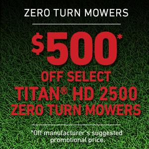 Toro - $500 USD Off Select TITAN HD 2500 Series Mowers