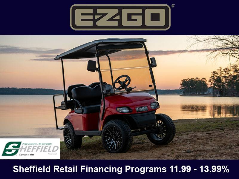E-Z-GO - Sheffield Retail Financing Programs 11.99 - 13.99%