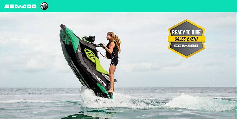 Sea-Doo - SPARK - Ready To Ride Sales Event