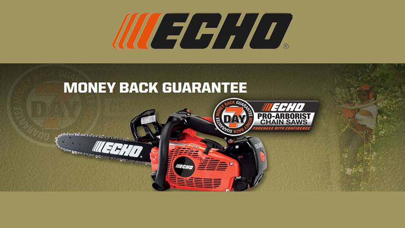 Echo - 7 Day Money Back Guarantee