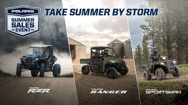 Polaris - Summer Sales Event - Take Summer By Storm - Offroad