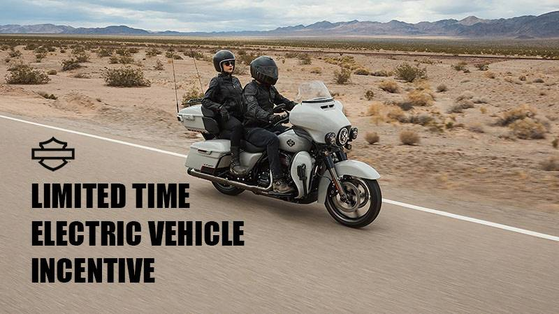 Harley-Davidson - Limited Time Electric Vehicle Incentive