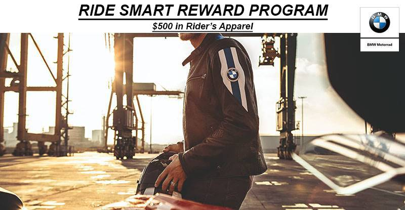 BMW - Ride Smart Reward Offer