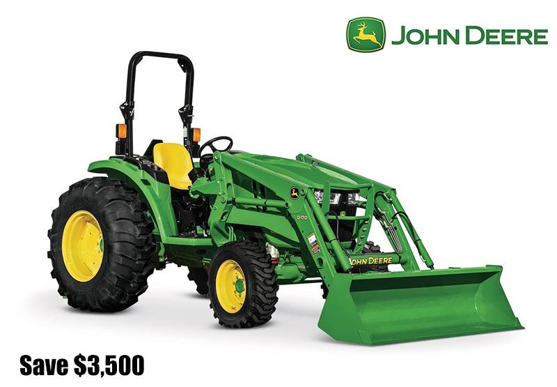 John Deere - Save $3,500 on 4066M Compact Tractors