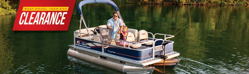 Sun Tracker - Boat Model Year-End Clearance