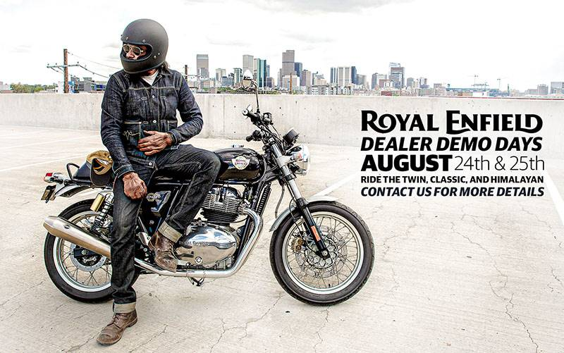 Royal Enfield - Dealer Demo Days