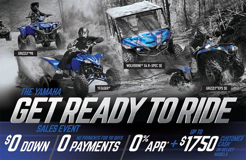 Yamaha - Get Out and Ride Sales Event - SxS