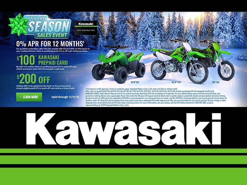 Kawasaki - Holiday Youth Model Offer