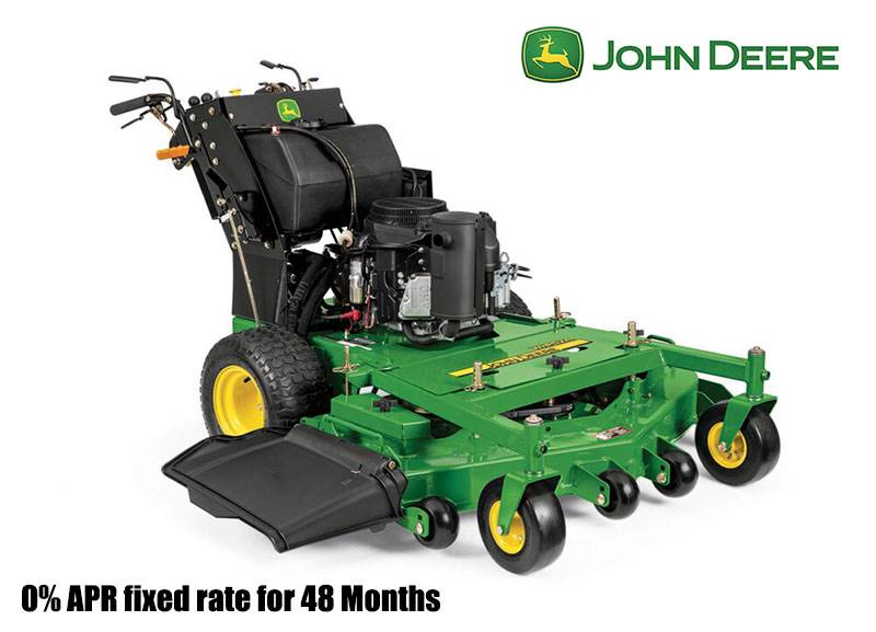 John Deere - 0% APR fixed rate for 48 Months on Commercial Walk-Behind Mowers