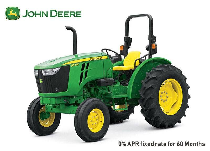 John Deere - 0% APR fixed rate for 60 Months on 5E Series Utility Tractors