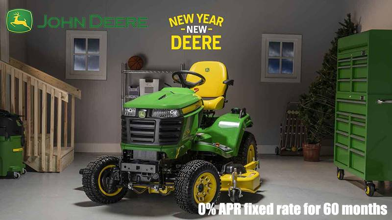 John Deere - 0% APR fixed rate for 60 months on X700 Signature Series Lawn Tractors
