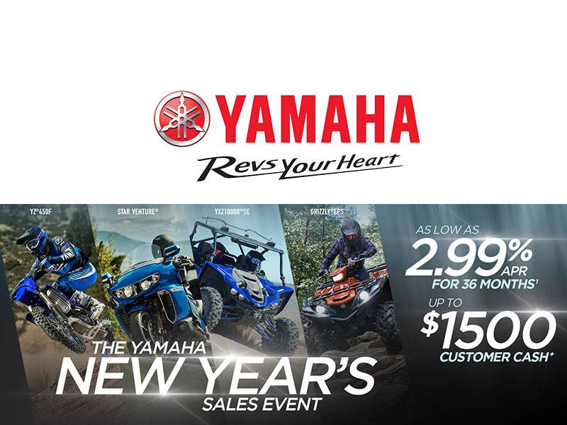 Yamaha Motor Corp., USA Yamaha - New Year's Sales Event - SxS
