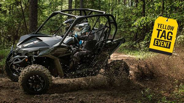 Can-Am Yellow Tag Event Rebate List Maverick