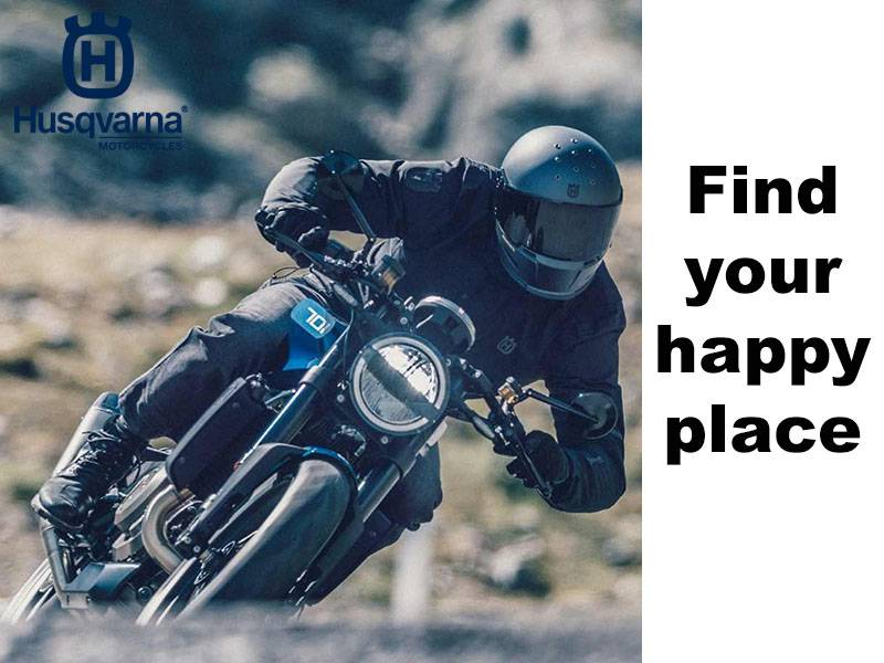 Husqvarna - Find Your Happy Place